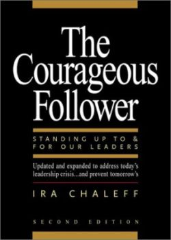 The courageous follower cover